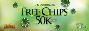 Free Chips Up To 50K Sesi 3